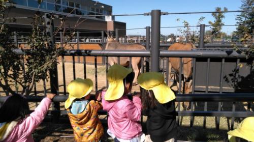 動物園に遠足